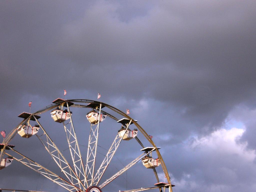 The Ferris Wheel at Bamboozle by ashleytheamazing