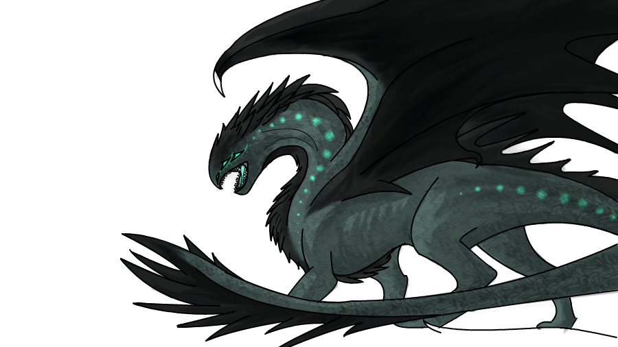 Dragon Completed by WhiteThorn13