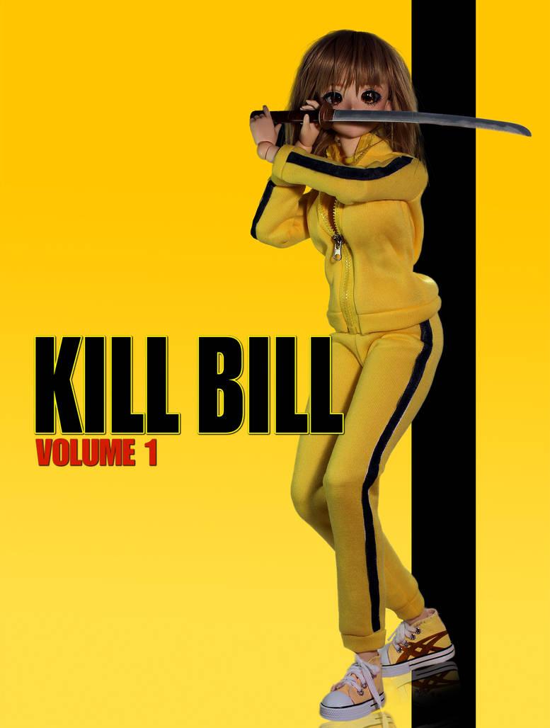 Kill Bill dolll cosplay scale 1:3 BJD + props