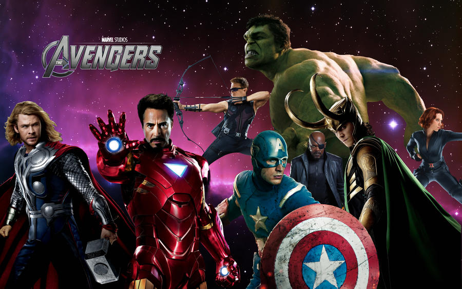 avengers wallpaper free  The Avengers Wallpaper by DevanTheNoob on DeviantArt