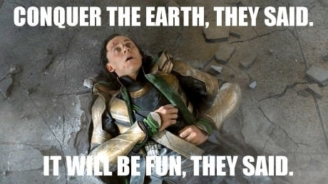 Loki Is Not Amused by DevanTheNoob