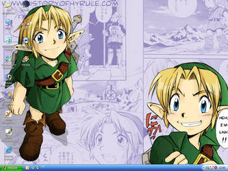 Young Link from Majora's Mask by Orihimer