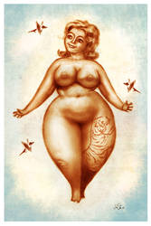 Pin-Up 04-19-15 by johnshine