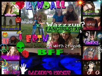 Kyndall X Erin= T.F.F.E. by MegaBlast-SwindleLuv
