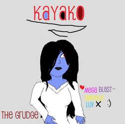 Kayako! by MegaBlast-SwindleLuv