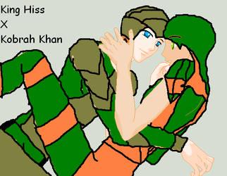 King Hiss X Kobra Khan by MegaBlast-SwindleLuv