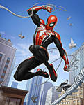 Spider-Man: Advanced Suit (Red, Black and White) 3