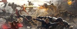 Avengers: Endgame - BATTLE OF EARTH