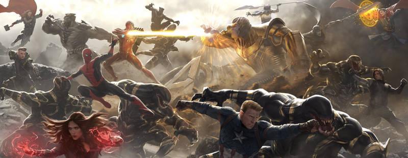 Avengers: Endgame - BATTLE OF EARTH by dannydc1197