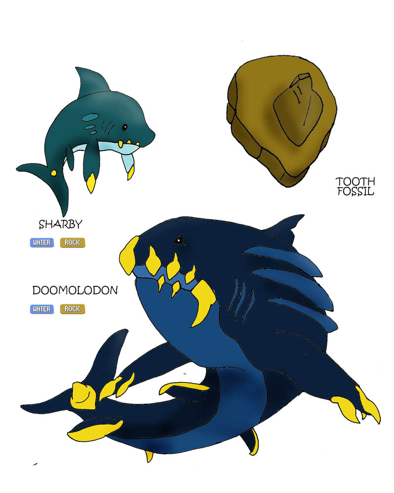 Ancient Sharks by Immortal-Wenz on DeviantArt