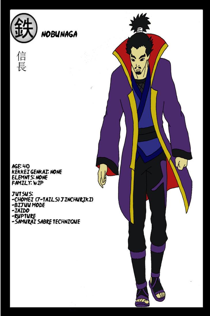 Nobunaga- Naruto OC by Immortal-Wenz