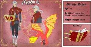 Darius Draco- Black Clover OCs