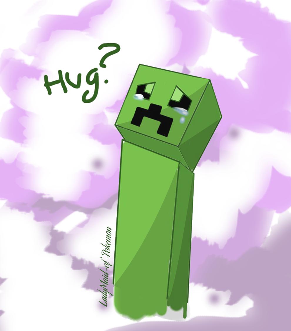 Creeper Hug By LadyMaid Of Pokemon
