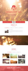 Wiva - One Page Parallax Muse Template by PixelladyArt