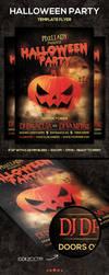 Halloween Party Flyer by PixelladyArt
