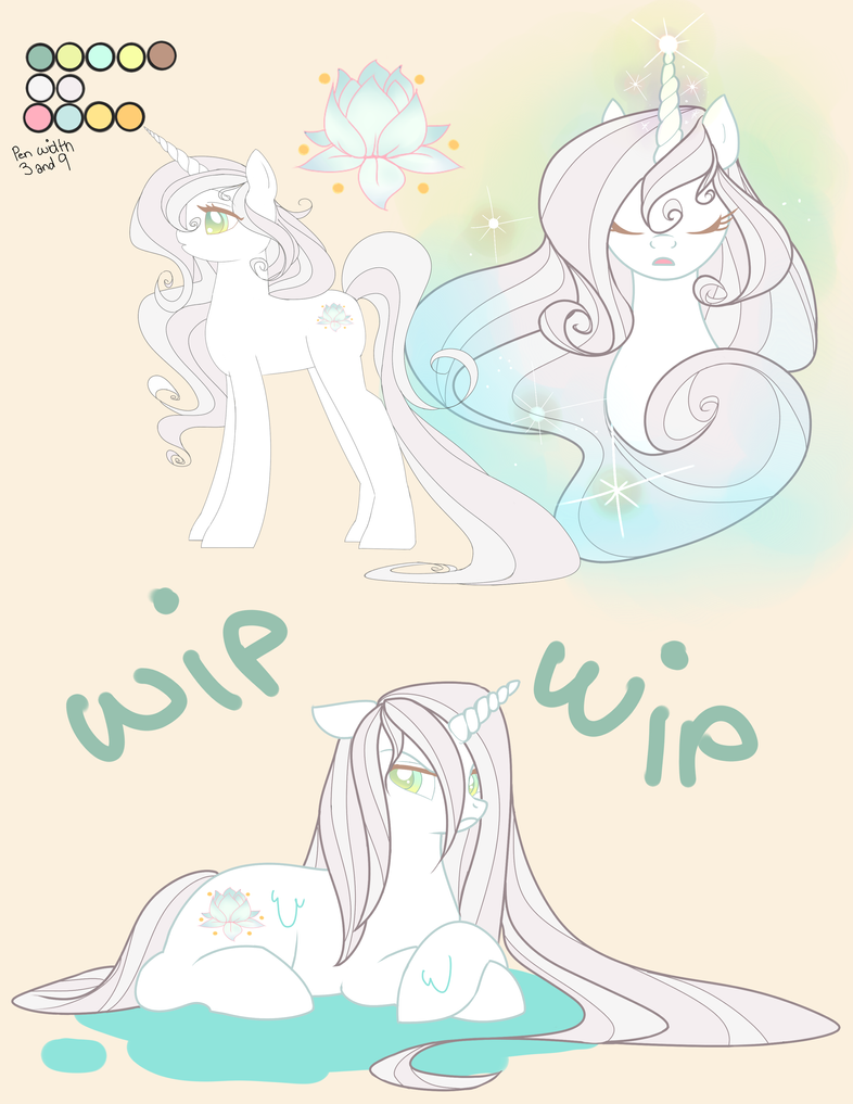 MLP OC Clarity UPDATE by LeLittleLuna