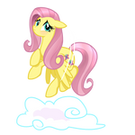 Fluttershy Being...Shy