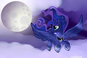 Princess Luna by LeLittleLuna