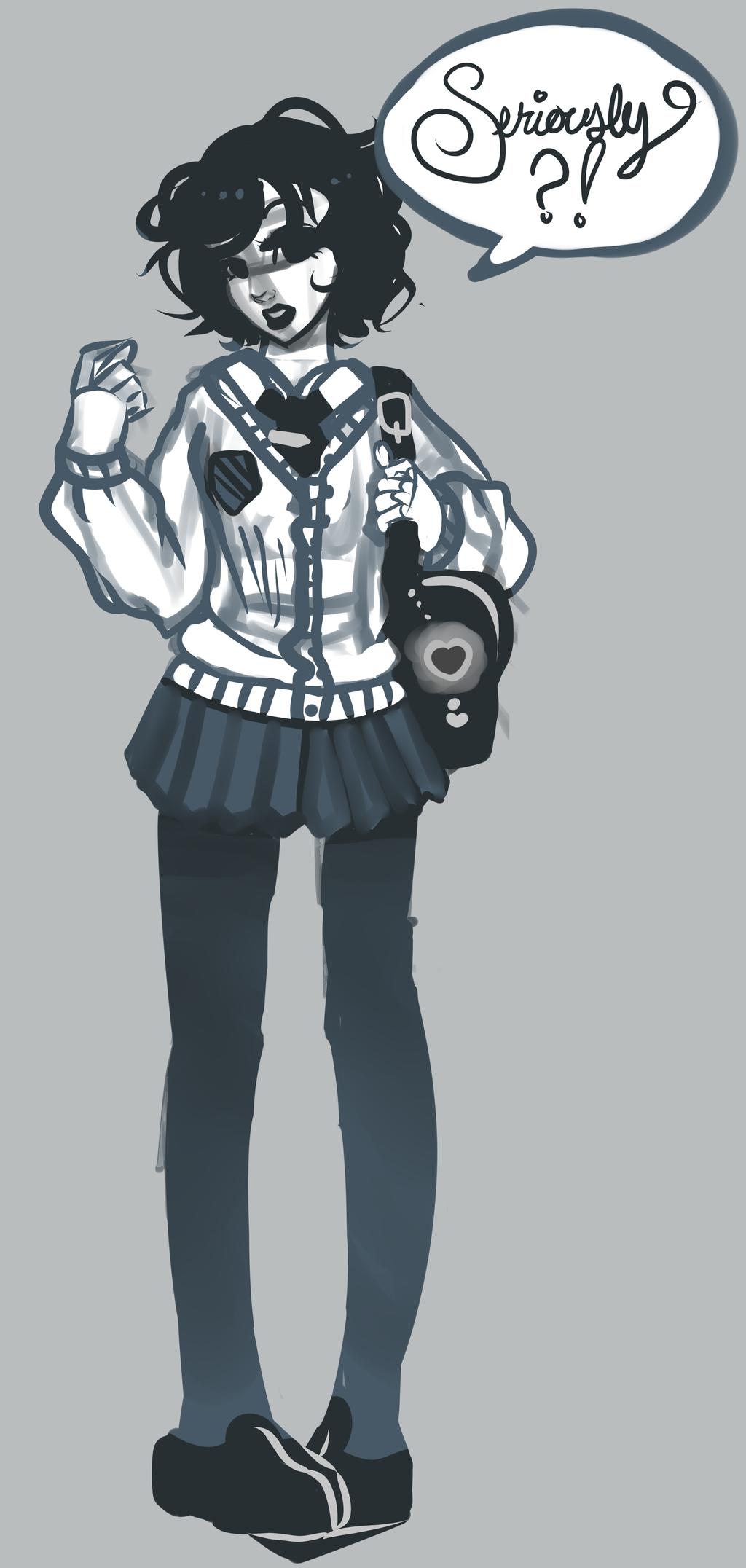 Ebony In Uniform 103