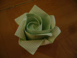 Origami Rose by xinsiera