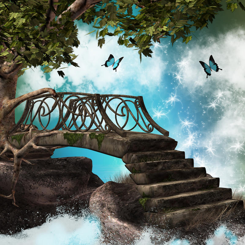 fantasy bridge by Twins72-Stocks