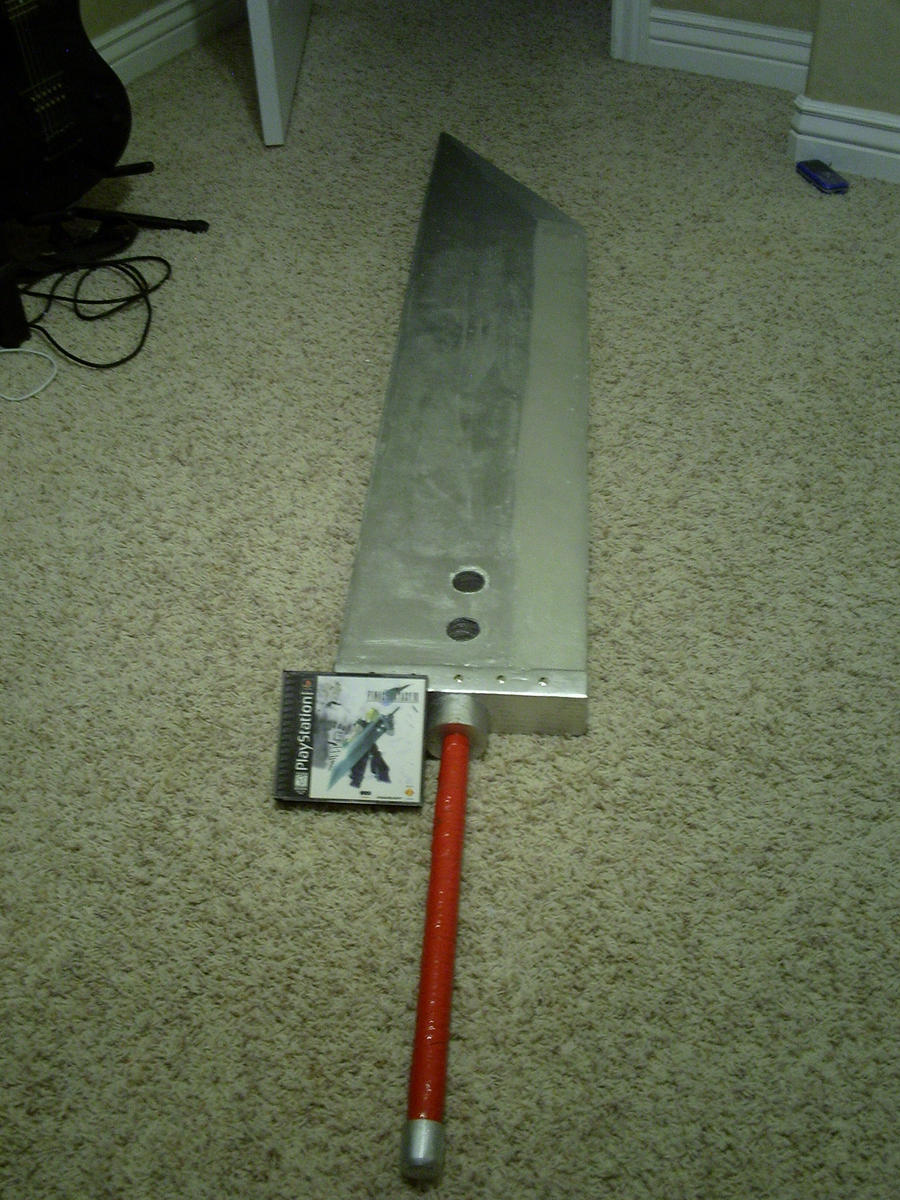 The Buster Sword by Forcegems