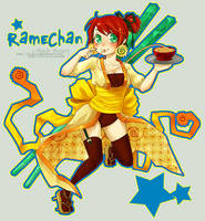 RAME-CHAN by MechaBerry