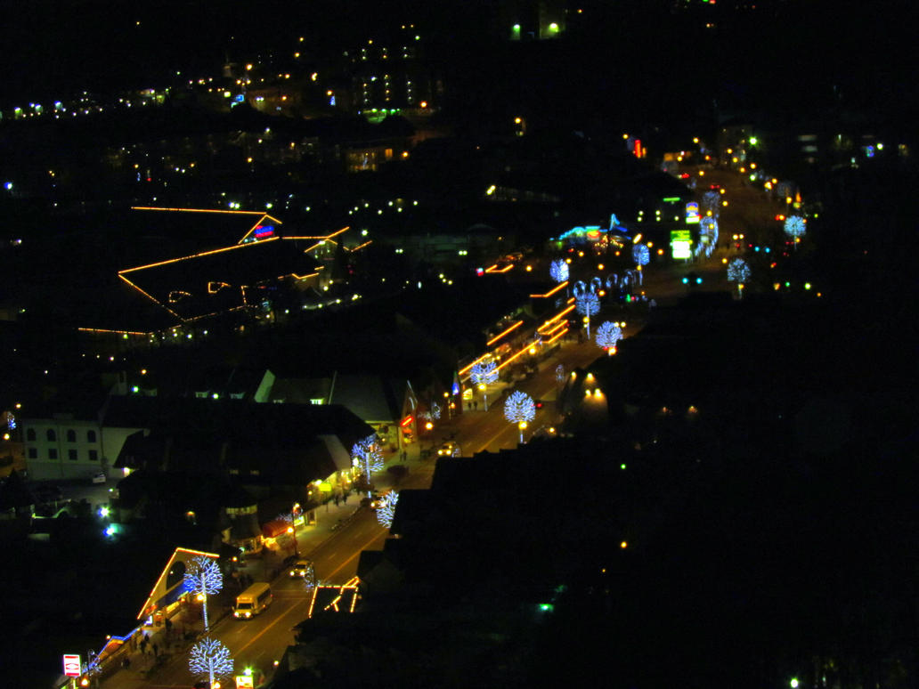 Gatlingburg Night Lights III by RealityIntolerant