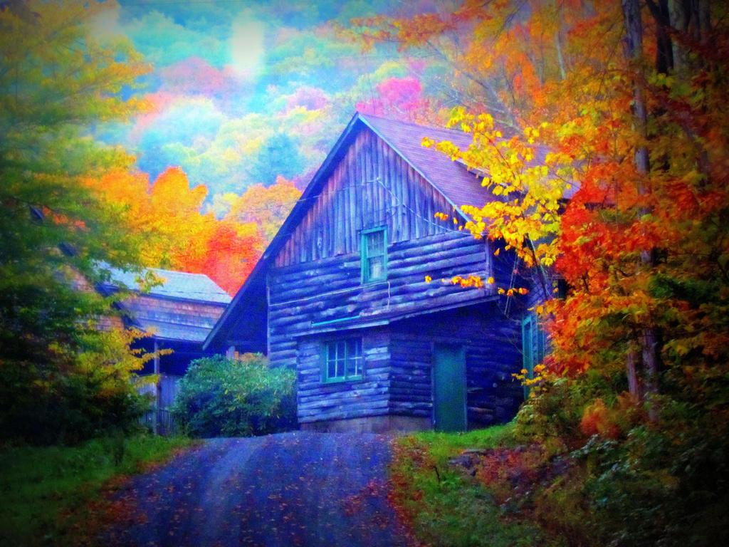Mystic Cabin by RealityIntolerant