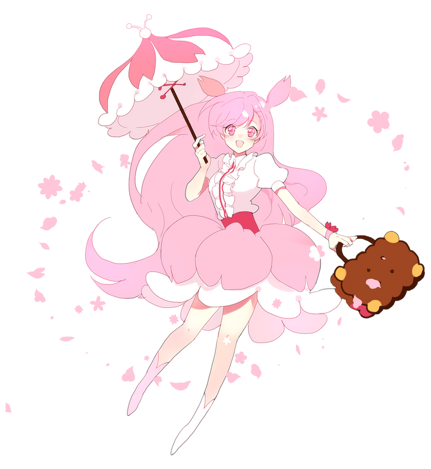 Cherry Blossom Cookie render by 9CandyCakes