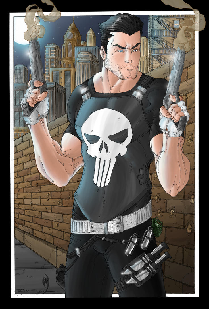 The Punisher by Patrick-Hennings