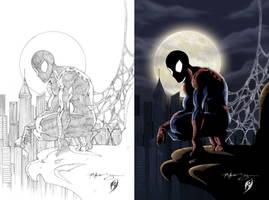 Spiderman... by Patrick-Hennings