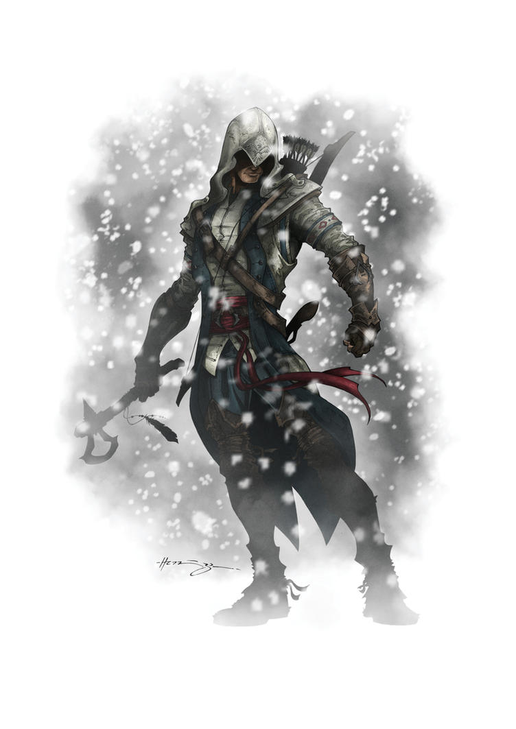 Assassins Creed 3:  Connor by Patrick-Hennings