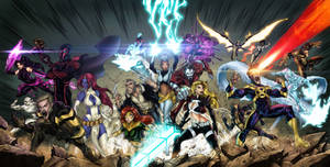 X-Men Triple Cover