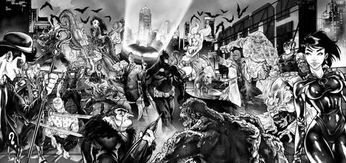 Batman Ambush by Patrick-Hennings