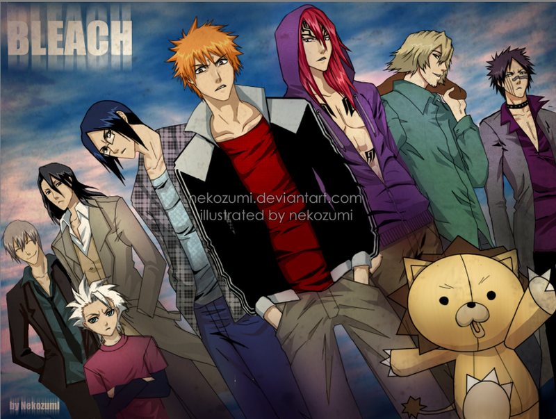 BLEACH - Boys by Nekozumi