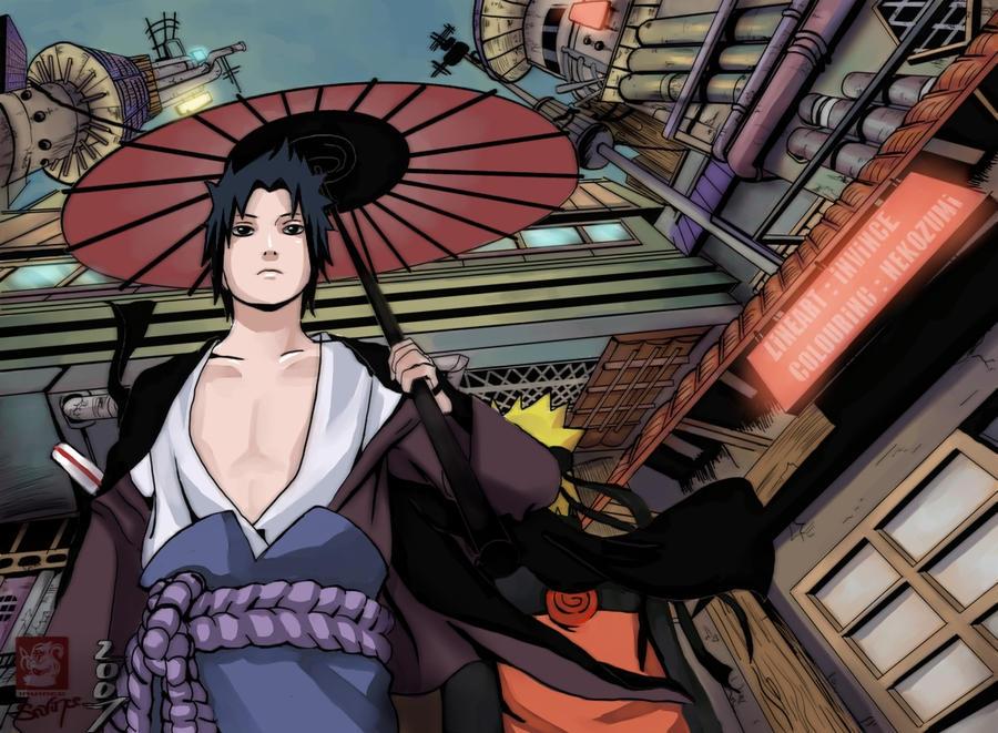 اروع ثنائي انيمي  COLLABS___Sasuke_and_Naruto_by_nekozumi