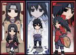 NARUTO - Uchiha bookmark set