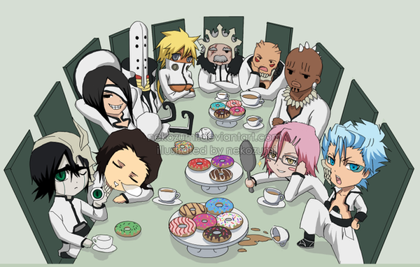 Oneoftwo 1674 277 BLEACH CHIBI Espada Tea Party By Jennaris