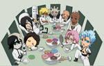 BLEACH -CHIBI espada tea party