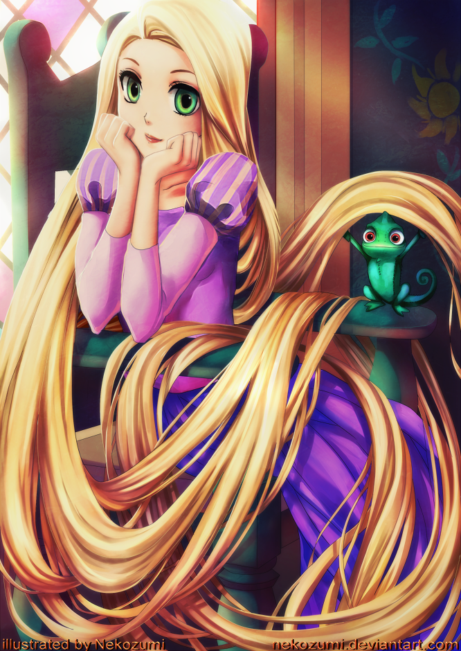 TANGLED - Rapunzel by Jennaris