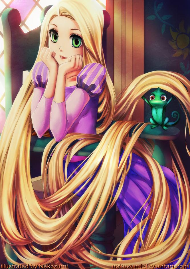 TANGLED - Rapunzel by Nekozumi