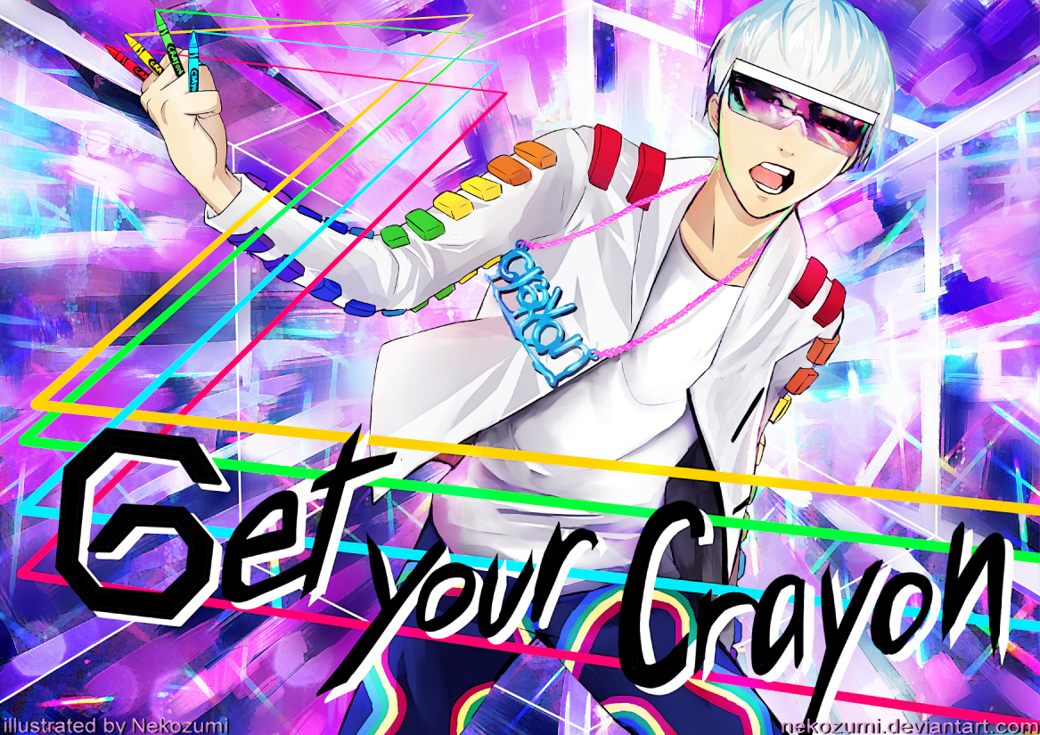 G Dragon Get Your Crayon By Jennaris
