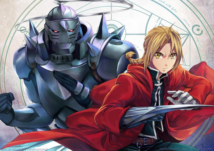 FMA - Brothers by Nekozumi