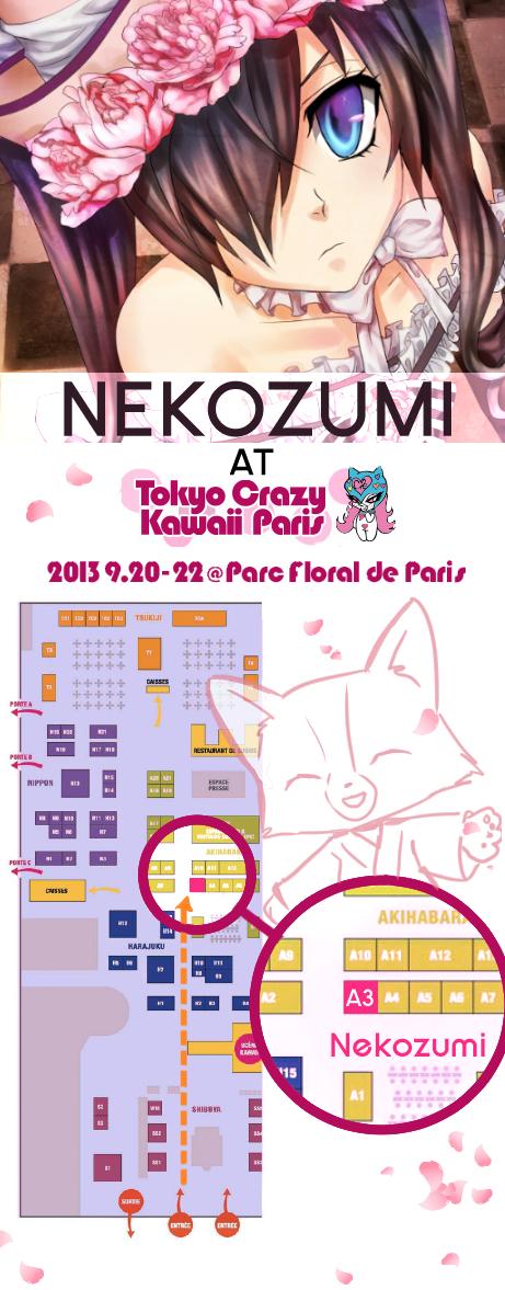 TOKYO CRAZY KAWAII 2013 - NEKOZUMI by Jennaris