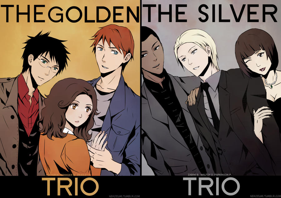 HP - Golden and Silver by Nekozumi