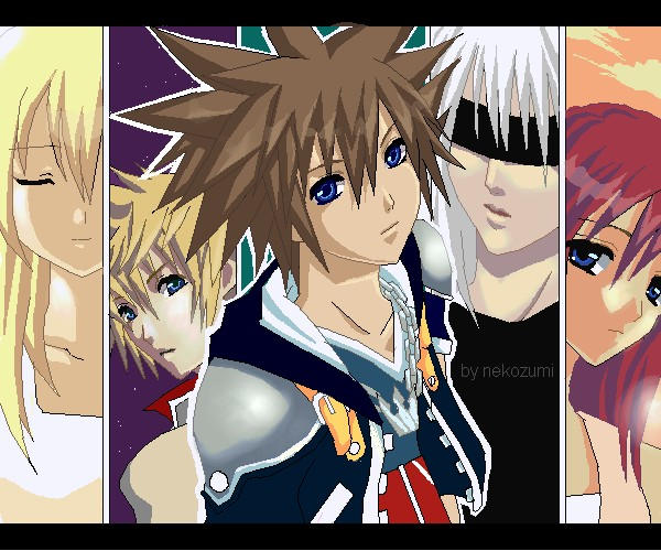 Kingdom Hearts II by Jennaris