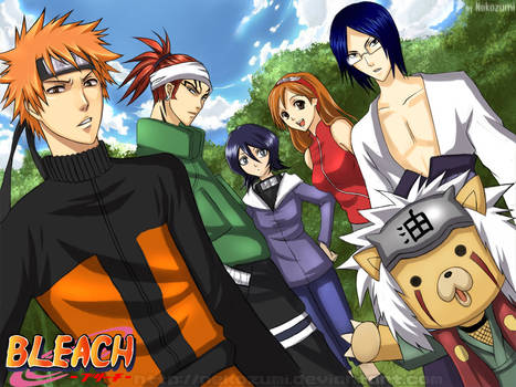BLEACH -Naruto nextgen cosplay