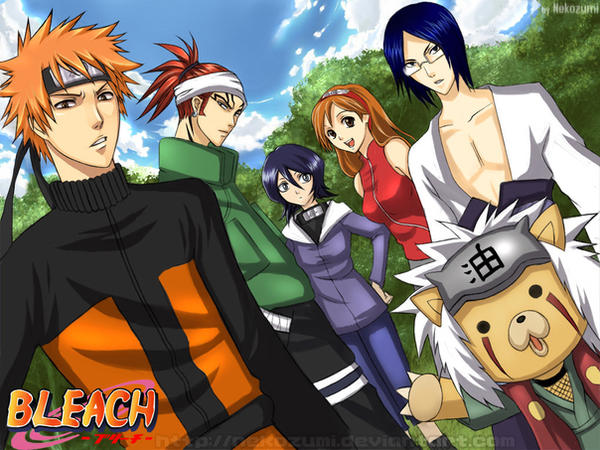 BLEACH -Naruto nextgen cosplay by Jennaris