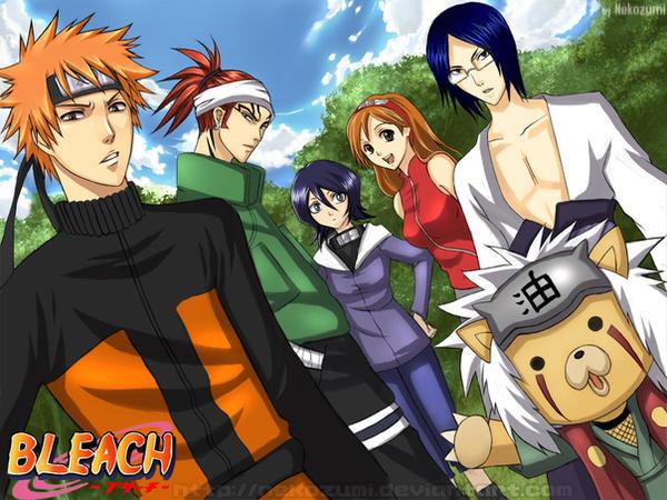 BLEACH -Naruto nextgen cosplay by Nekozumi